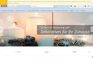 kochland.de Webseiten Screenshot