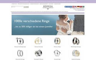 Kodega Webseiten Screenshot