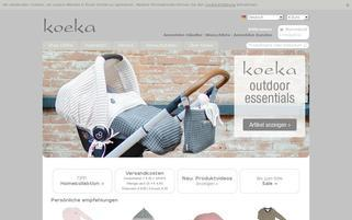 koeka Webseiten Screenshot