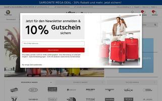 Koffer Arena Webseiten Screenshot