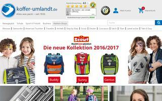 Koffer-Umlandt.de Webseiten Screenshot