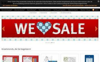 Kreativ.de Webseiten Screenshot