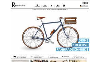 Kreativrad Webseiten Screenshot