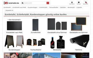 Kreidetafel.de Webseiten Screenshot