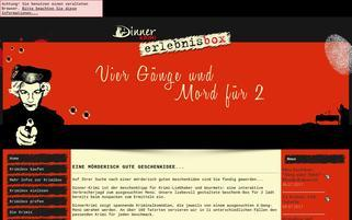 Krimibox Webseiten Screenshot