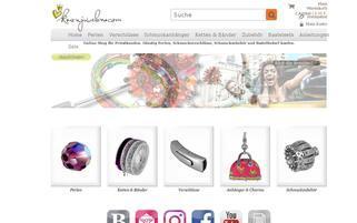 Kronjuwelen Webseiten Screenshot