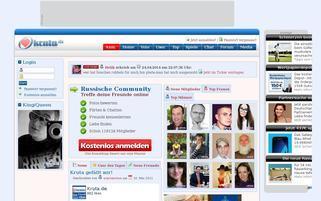 Kruta Webseiten Screenshot