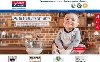 Küchen Quelle Webseiten Screenshot