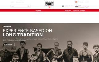 Kuhn Rikon Webseiten Screenshot