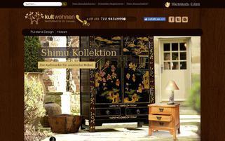 Kultwohnen Webseiten Screenshot