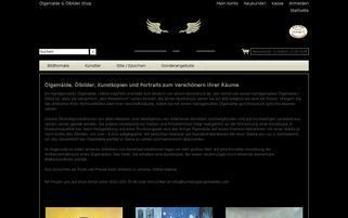 kunstkopie-gemaelde.com Webseiten Screenshot