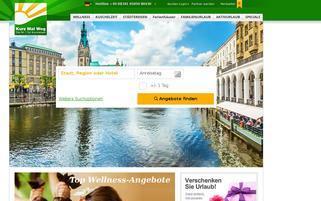 Kurz mal Weg Webseiten Screenshot
