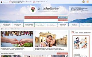 kuschelliebe.de Webseiten Screenshot