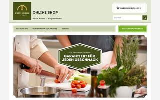 Kustermann Webseiten Screenshot