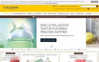 L'Occitane Webseiten Screenshot