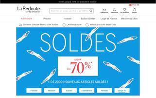 La Redoute Schweiz Webseiten Screenshot