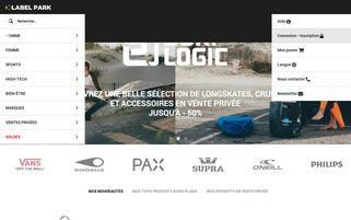 label-park.com Webseiten Screenshot