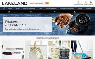 Lakeland Webseiten Screenshot