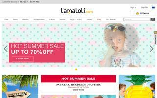LamaLoLi Webseiten Screenshot