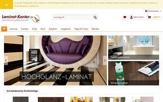 Laminat-Kontor.de Webseiten Screenshot