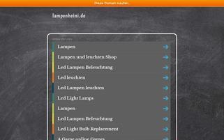 lampenheini.de Webseiten Screenshot