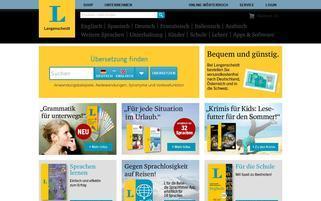 Langenscheidt Webseiten Screenshot