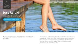 Largo Villas Webseiten Screenshot