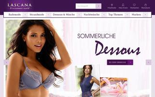 LASCANA Webseiten Screenshot