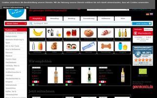 Lebensmittel.de Webseiten Screenshot
