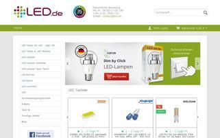 led.de Webseiten Screenshot