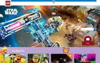 Lego Schweiz Webseiten Screenshot
