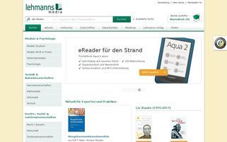 Lehmanns Webseiten Screenshot