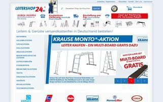 Leitershop24 Webseiten Screenshot