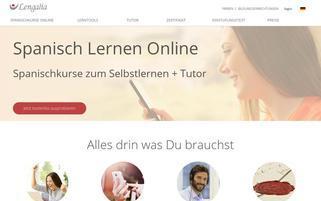 lengalia.com Webseiten Screenshot