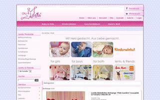 lenilu.de Webseiten Screenshot