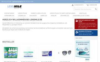 Lensmile Webseiten Screenshot