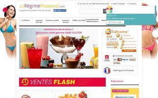 leregimeproteine.com Webseiten Screenshot