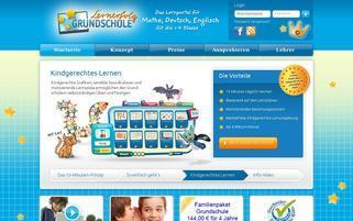Lernerfolg Webseiten Screenshot
