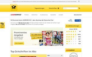 leserservice-sicherheitsabo.de Webseiten Screenshot
