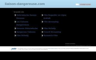 liaison-dangereuse Webseiten Screenshot