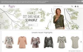 Liberty Webseiten Screenshot