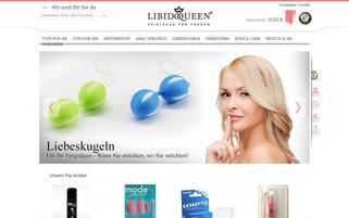 Libidoqueen Webseiten Screenshot