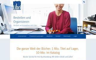 libri.de Webseiten Screenshot