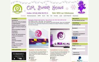 Lichterleben Webseiten Screenshot