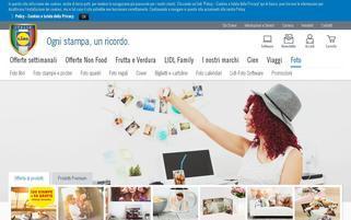 lidl-foto.it Webseiten Screenshot