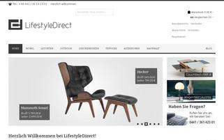 LifestyleDirect Webseiten Screenshot
