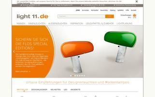 light11 Webseiten Screenshot