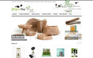 Lilli Green Shop Webseiten Screenshot