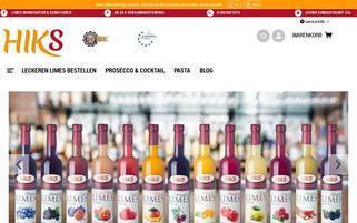 limes-manufaktur.de Webseiten Screenshot