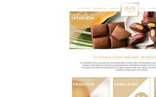 lindtchocoladenclub.de Webseiten Screenshot